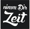 """Label """"nimm Dir Zeit"""" 50x50 mm"""