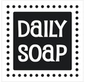 """Label """"Daily Soap"""" 50x50 mm"""