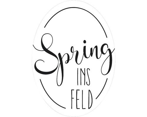 "Label ""Spring ins FELD"""