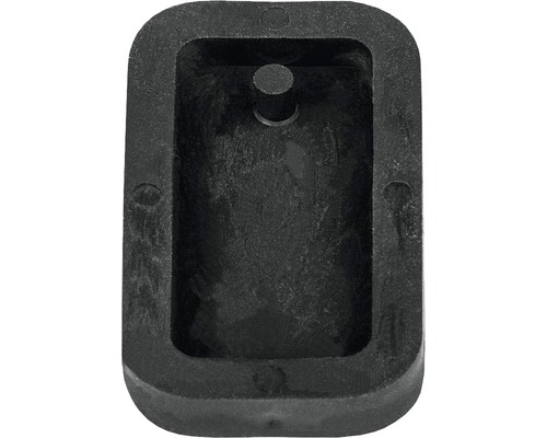 Gießform: Anhänger Rechteck, 1,9x3,9 cm
