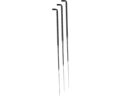 Filznadel 78mm, 7 Stück