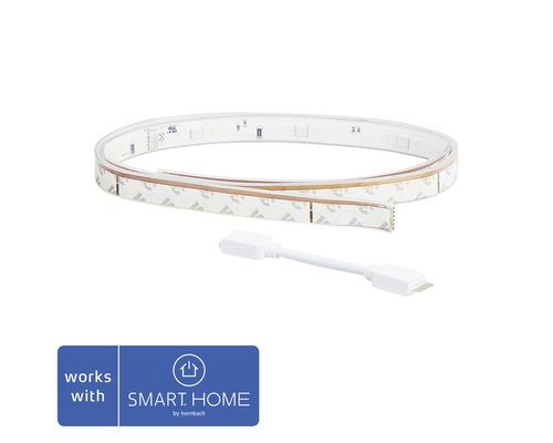 Philips hue LED Band Lightstrip Plus Erweiterung White & Color Ambiance 950 lm 2000-6500 K 230V 1 m - Kompatibel mit SMART HOME by hornbach