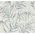 Vliestapete 37335-1 Greenery Bambusblatt blau gr
