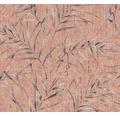Vliestapete 37335-4 Greenery Bambusblatt braun