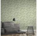 Vliestapete 37335-3 Greenery Bambusblatt grün