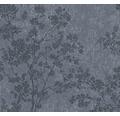 Vliestapete 37397-4 New Walls Bäume blau