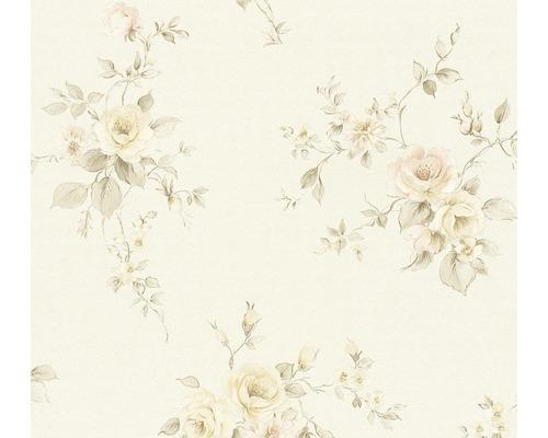 Vliestapete 3723-38 Romantico Bouquet rosa creme