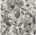 Vliestapete 37216-3 Greenery Blumen grau