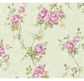 Vliestapete 37226-4 Romantico Blumenranke rosa