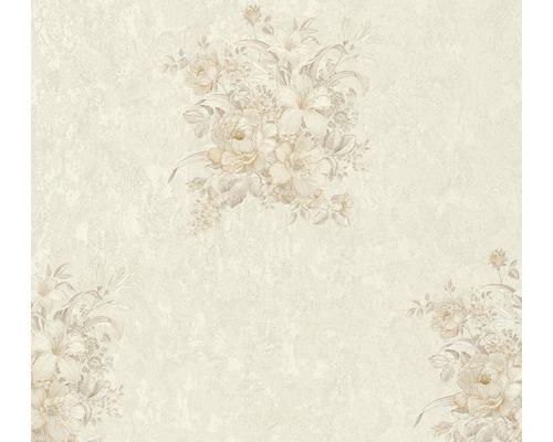 Vliestapete 37225-4 Romantico creme Bouquet