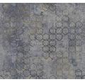 Vliestapete 37424-5 New Walls Grafik blaugrau
