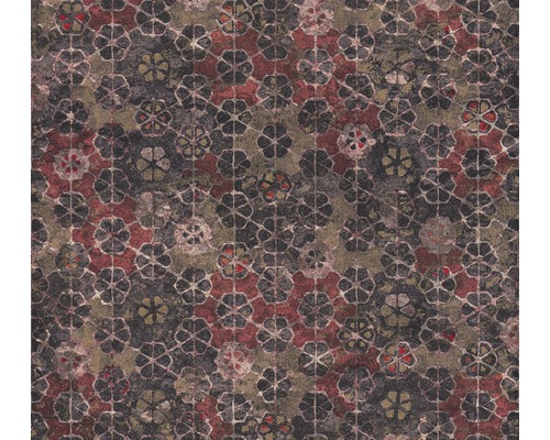 Vliestapete 37391-3 New Walls Mosaik rosa rot