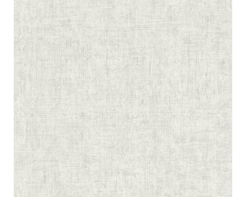 Vliestapete 37334-1 Greenery Uni hellgrau