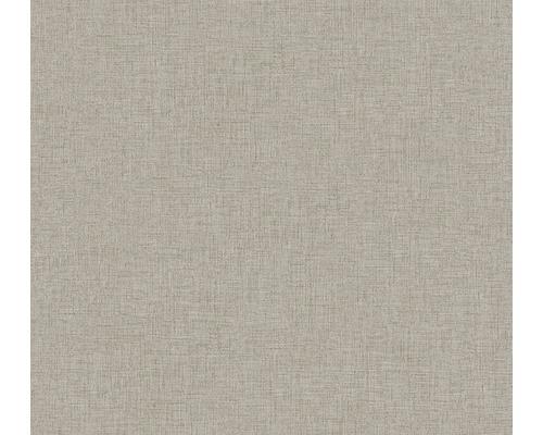 Vliestapete 37430-8 New Walls Uni textil taupe
