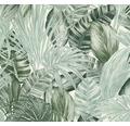 Vliestapete 36820-1 Greenery Palmenblatt grün