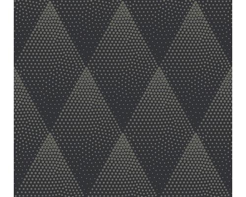 Vliestapete 37419-3 New Walls Rombus schwarz