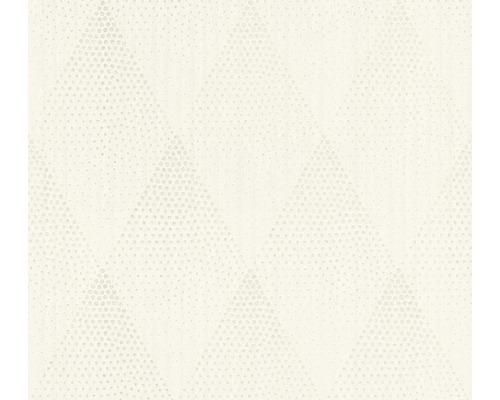 Vliestapete 37419-2 New Walls Rombus weiß Glam