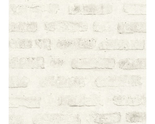 Vliestapete 37422-2 New Walls Stein grau weiß
