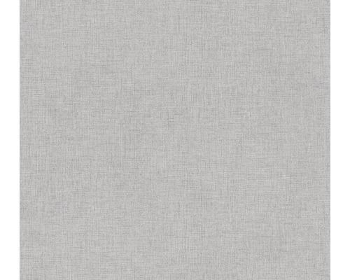 Vliestapete 37430-5 New Walls Uni textil grau