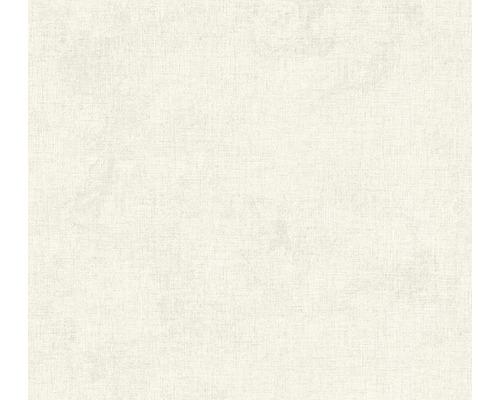 Vliestapete 37431-1 New Walls Uni textil creme