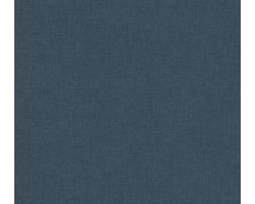 Vliestapete 37431-5 New Walls Uni textil petrol