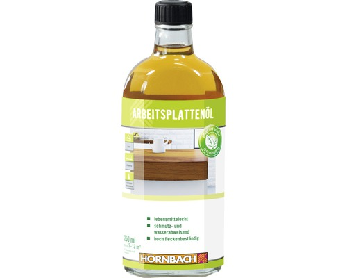 HORNBACH Arbeitsplattenöl farblos 250 ml
