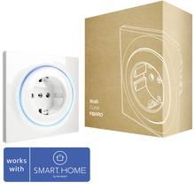 Fibaro Walli Outlet intelligente Steckdose zur Steuerung elektrischer Geräte Walli Outlet Typ FFIBEFGWOF-011 weiß - Kompatibel mit SMART HOME by hornbach