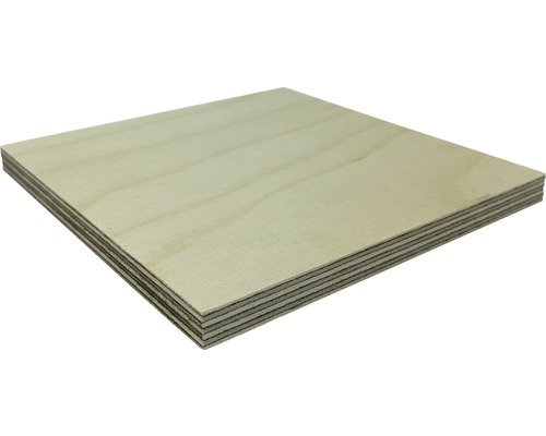 Fixmaß Multiplexplatte Birke 800x600x6 mm