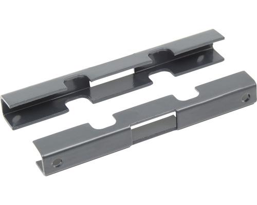 Mattenverbinder inkl. Schrauben M8 X 32, anthazit
