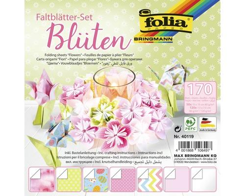 Faltblätter Set Blüten 170 Blatt