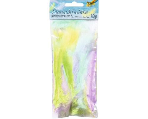 Flauschfedern Pastell 10g