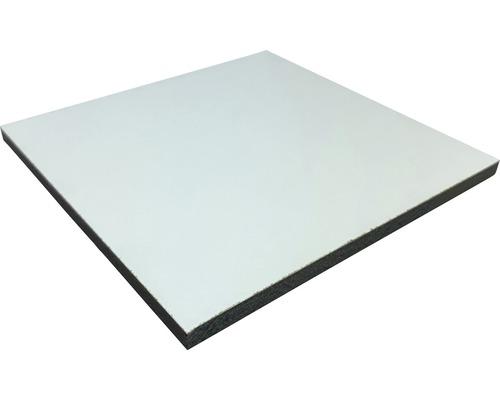 Fixmaß Kompaktplatte weiß 800x600x6 mm