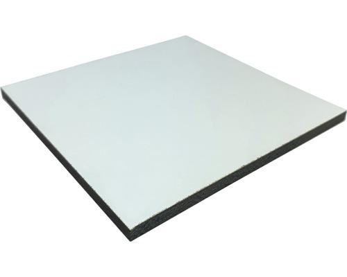 Fixmaß Kompaktplatte weiß 800x600x3 mm