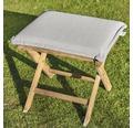Polster für Sessel/Hocker 50 x 45 cm Polyester sand
