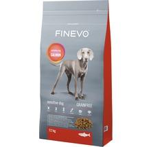 Hundefutter trocken FINEVO Lachs Adult getreidefrei 12 kg