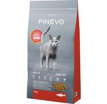 Katzenfutter trocken FINEVO Lachs getreidefrei 8 kg