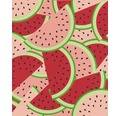 Vliestapete 813814 Kids&Teens 3 Wassermelonen
