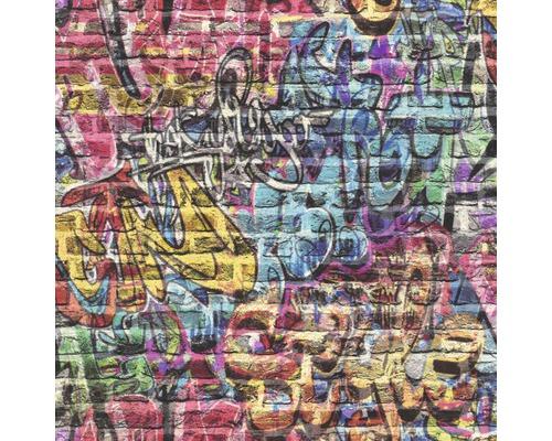 Papiertapete 213201 Kids&Teens 3 Graffiti Blau
