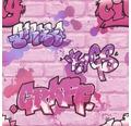 Papiertapete 272918 Kids&Teens 3 Graffit Rosa