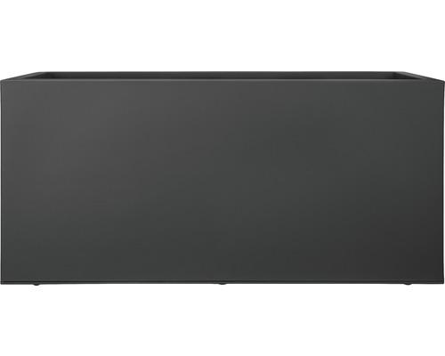 Pflanzkübel Elho Vivo mit Rollen L 90 cm schwarz
