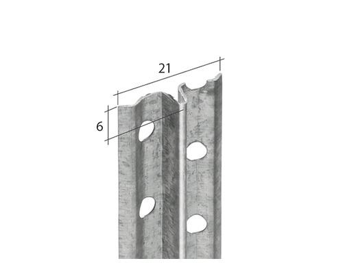 Schnellputzprofil 6 mm Länge: 2,50m