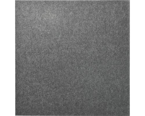 Akustikpaneel Whisperwool anthrazit aus Schafwolle 900 x 900 x 12 mm