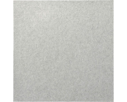 Akustikpaneel Whisperwool silbergrau aus Schafwolle 900 x 900 x 12 mm