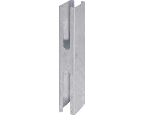 Zaunpfostenadapter für 60 x 40 cm, feuerverzinkt