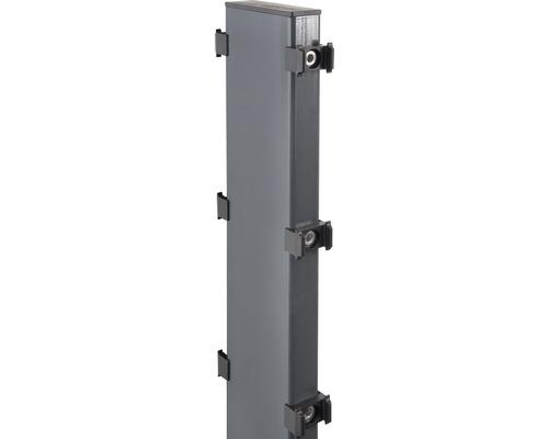 Gabionen-Pfosten Step² zum Aufschrauben 12 x 4 x 107 cm, anthrazit