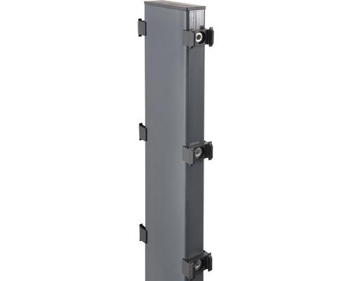 Gabionen-Pfosten Step² zum Aufschrauben 12 x 4 x 189 cm, anthrazit