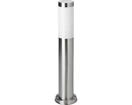 Außensockelleuchte Edelstahl Kunststoff IP44 1-flammig Chorus edelstahl weiß HxØ 510x75 mm