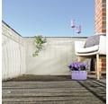 Balkonbespannung PE 90 x 300 cm elfenbein