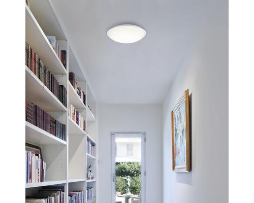 LED Sensor Deckenleuchte IP44 15W 1500 lm 4000 K neutralweiß HxØ 65x278 mm weiß mit Bewegungsmelder Tageslichtsensor