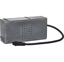 LED Pflasterstein Lichtstein Lucem dunkelgrau 20 x 10 x 6 cm